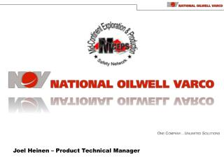Joel Heinen – Product Technical Manager