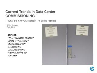Current Trends in Data Center COMMISSIONING