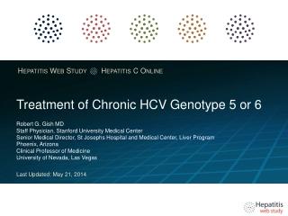 Chronic Hepatitis C Relapser