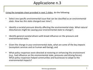 Applicazione  n.3