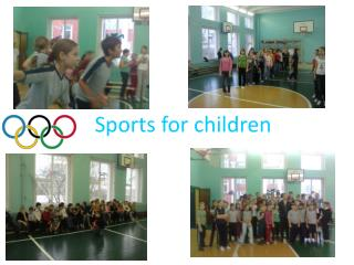 Sports for children