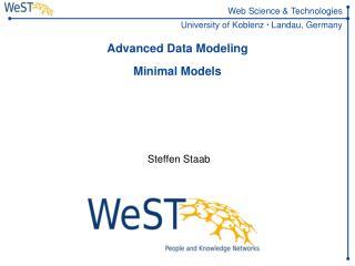 Advanced Data Modeling Minimal Models