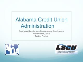 Alabama Credit Union Administration