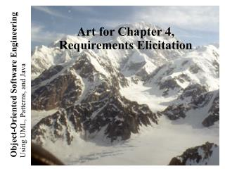 Art for Chapter 4, Requirements Elicitation