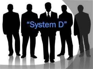 """System  d"""