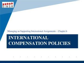 International Compensation Policies