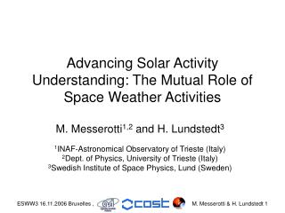 Advancing Solar Activity Understanding: The Mutual Role of Space Weather Activities