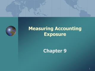 Measuring Accounting Exposure