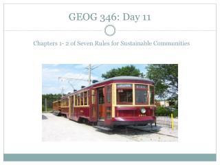 GEOG 346: Day 11