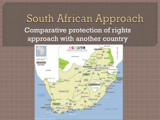 South African Approach