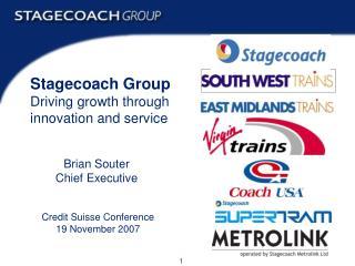 Credit Suisse Conference 19 November 2007