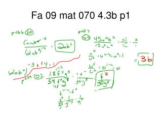Fa 09 mat 070 4.3b p1