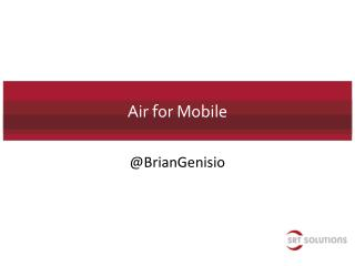 Air for  Mobile