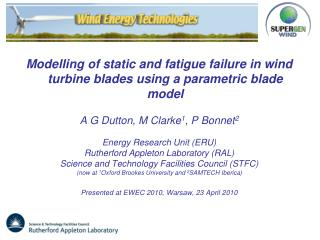 Modelling of static and fatigue failure in wind turbine blades using a parametric blade model