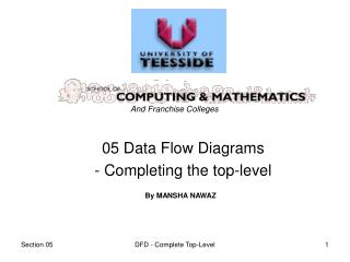 05 Data Flow Diagrams  - Completing the top-level
