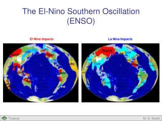 The El-Nino Southern Oscillation (ENSO)