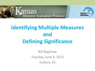Identifying Multiple Measures and Defining Significance