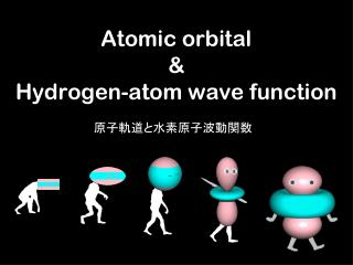 Atomic orbital & Hydrogen-atom wave function