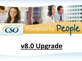 v8.0 Upgrade