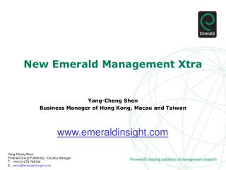 New Emerald Management Xtra