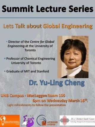 Dr. Yu-Ling Cheng
