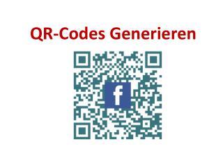 QR-Codes Generieren