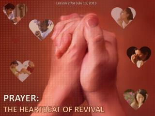 PRAYER: THE HEARTBEAT OF REVIVAL