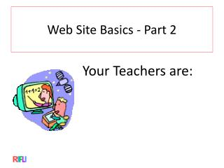 Web Site  Basics - Part 2