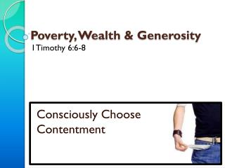Poverty, Wealth & Generosity