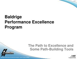 The Path to Excellence and Some Path-Building Tools