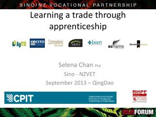 Learning a trade through apprenticeship