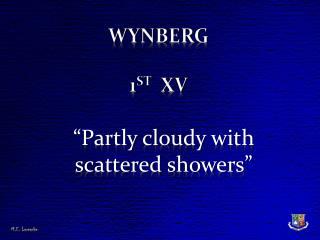 Wynberg 1 st   XV