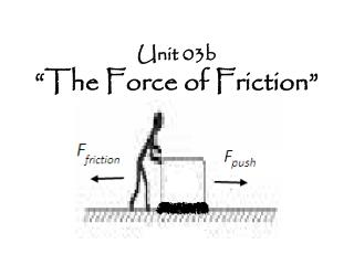 "Unit 03b ""The Force of Friction"""