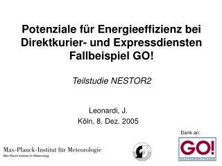Leonardi, J. Köln, 8. Dez. 2005