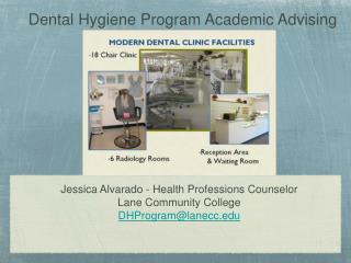 Dental Hygiene Program Academic Advising