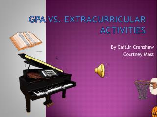 GPA vs. Extracurricular activities