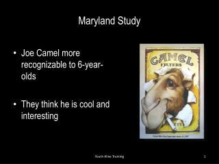 Maryland Study