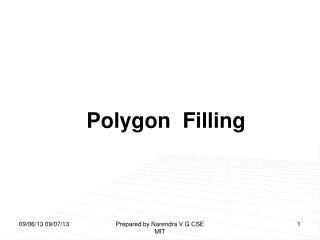 Polygon  Filling