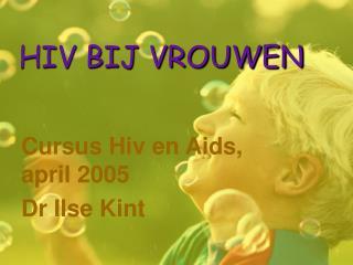 HIV BIJ VROUWEN