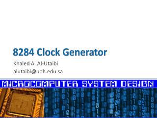 8284 Clock Generator
