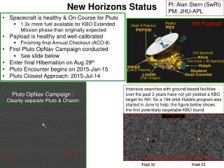 New Horizons Status