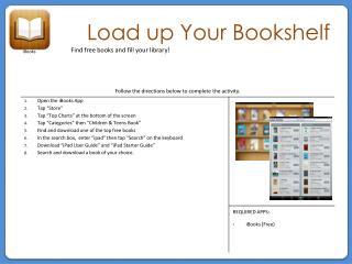 Load up Your Bookshelf