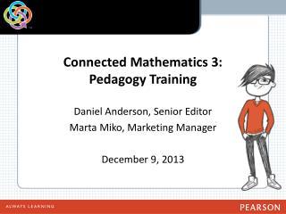 Connected Mathematics 3:  Pedagogy Training