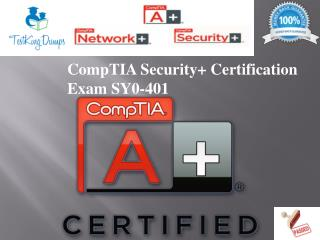 SY0-401 Certification