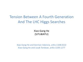LHC Higgs searches ATLAS and CMS have performed searches for Higgs at the LHC with null results.