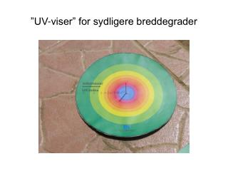 �UV-viser� for sydligere breddegrader