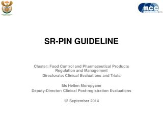 SR-PIN GUIDELINE