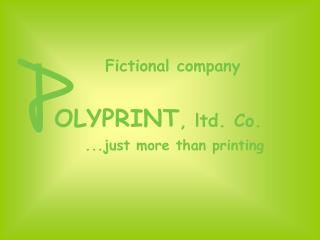 OLYPRINT , ltd. Co.