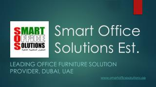 Buy Affordable Office Furniture in Dubai