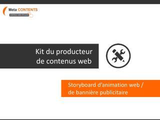 Kit du producteur de contenus web